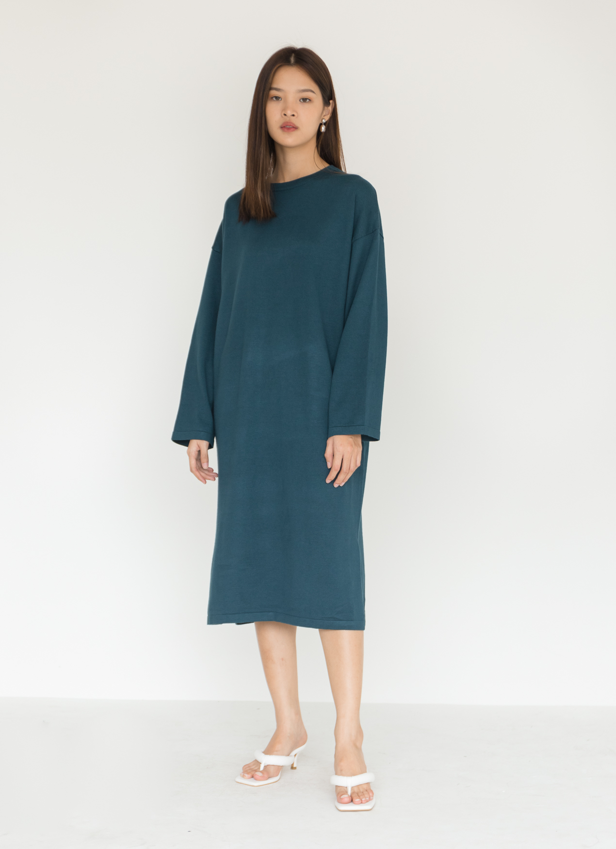 BOWN Ludovic Dress - Green