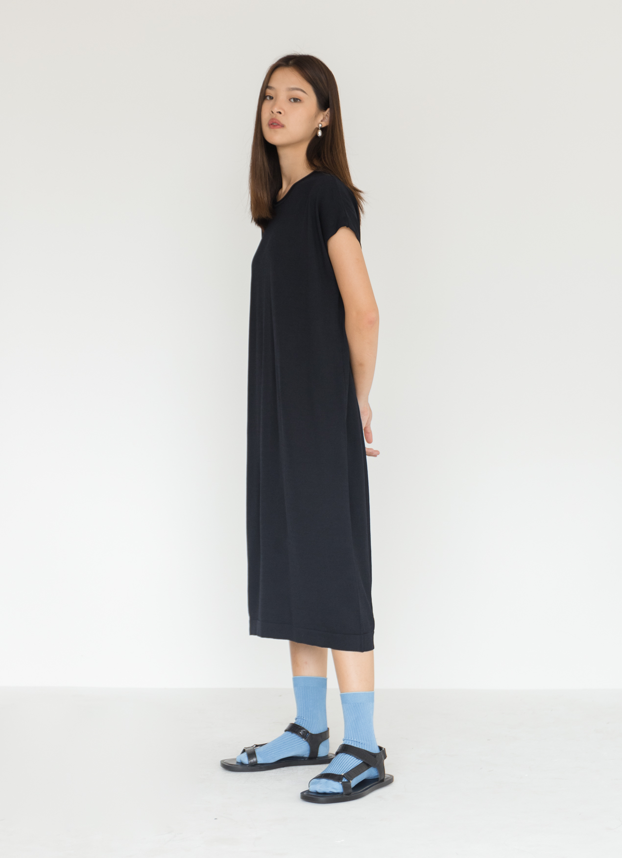 BOWN Jia Dress - Black