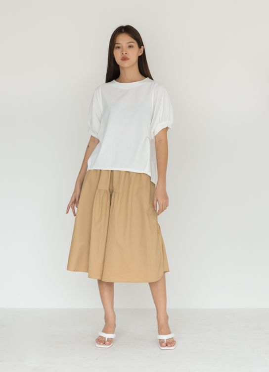 BOWN Nalcy Top - White