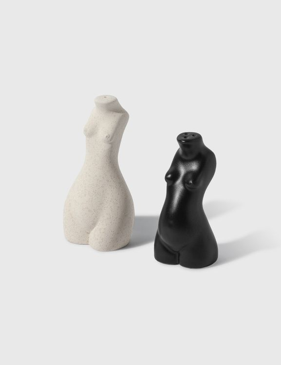 Anissa Kermiche Tit For Tat Salt And Pepper Shakers
