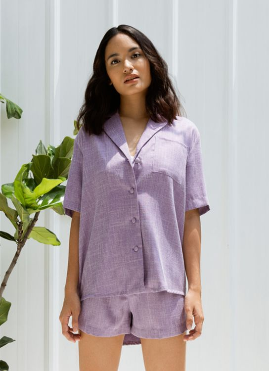 ATS THE LABEL Voyage Lavender Shirt