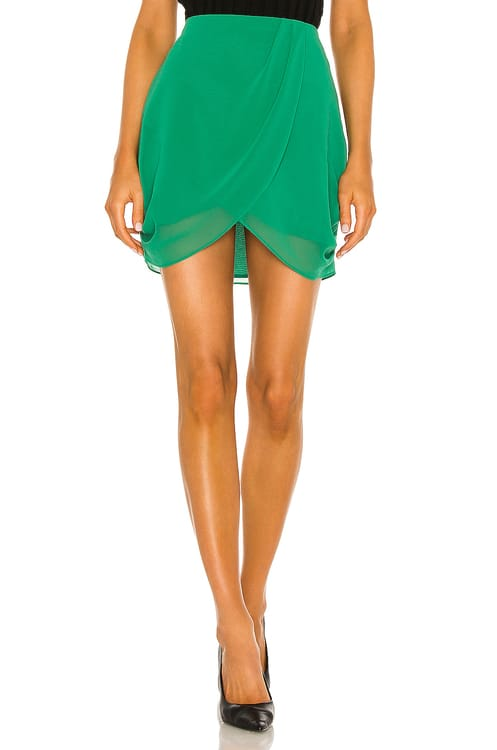 L'Academie the Jenny Mini Skirt