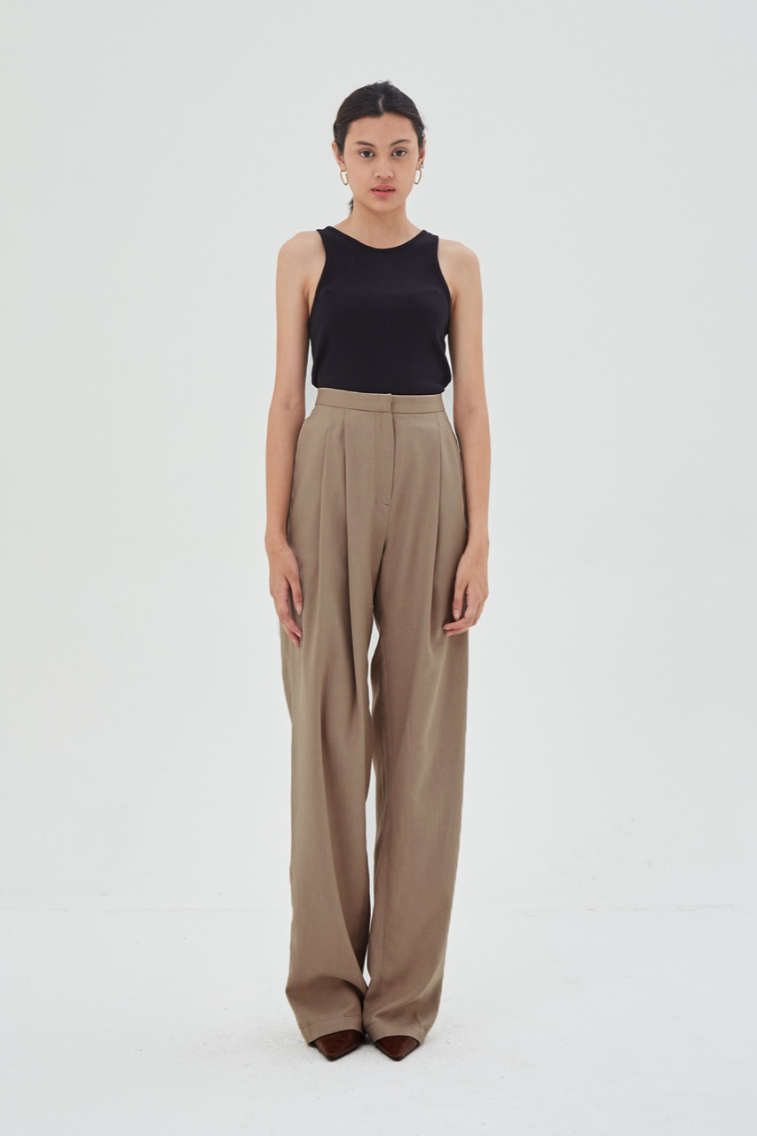Shopatvelvet General Trousers Oat