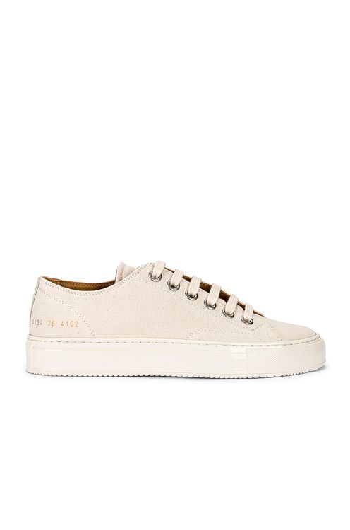 Common Projects Tournament Low Canvas Sneaker