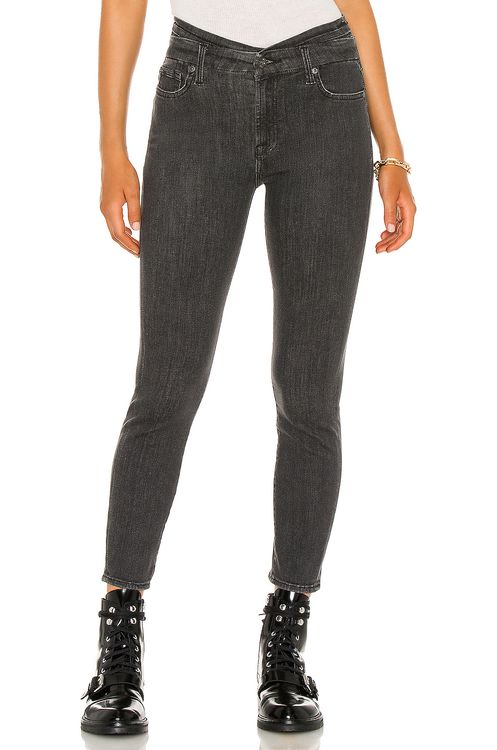 7 for all mankind High Waist Skinny