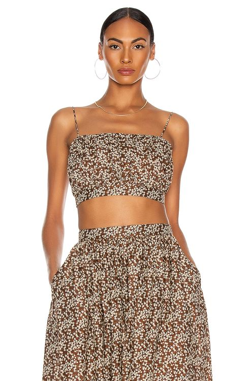 Matteau Ruched Camisole Top