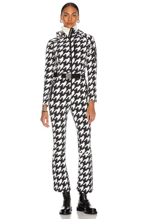 Perfect Moment Houndstooth Jumpsuit