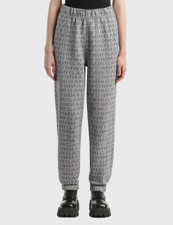 Ganni Jacquard Isoli Elasticated Pants