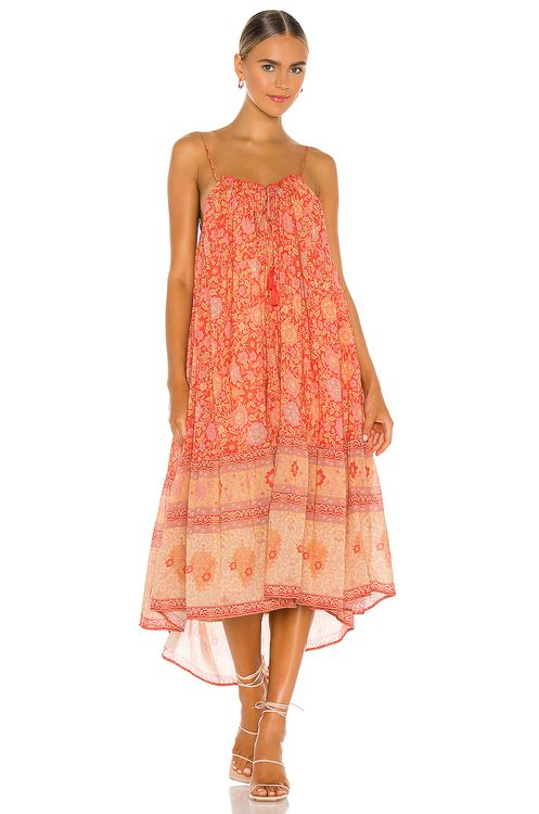 Spell & The Gypsy Collective Love Story Strappy Midi Dress