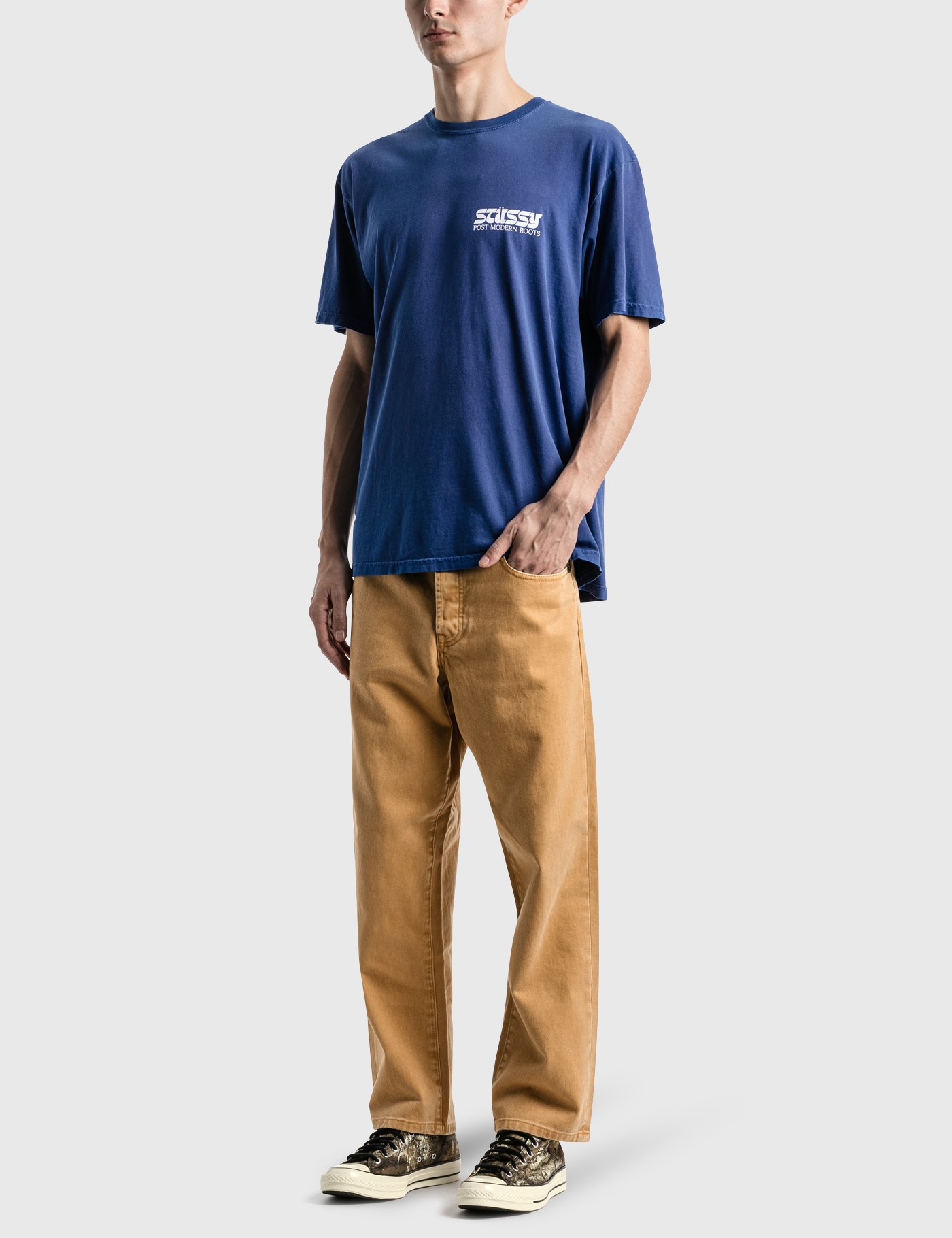 Stussy Post Modern Roots Pig Dyed T-Shirt