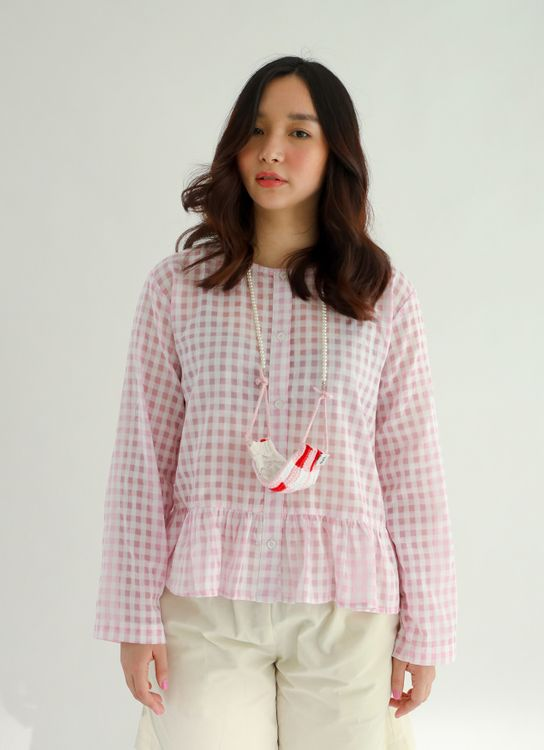 DOTS Ume Frilled Blouse