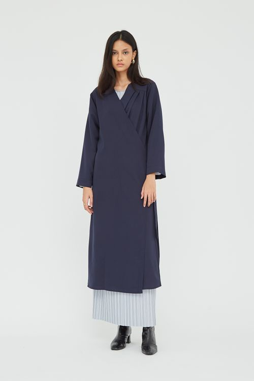 Shopatvelvet Rou Robe Navy