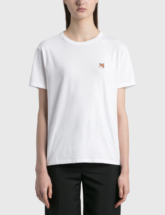 MAISON KITSUNE Fox Head Patch Classic T-shirt