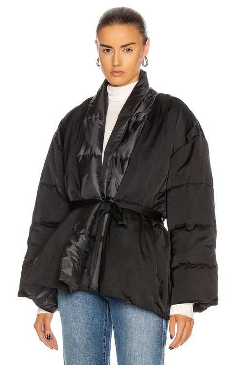 HOLDEN Down Oversized Wrap Jacket