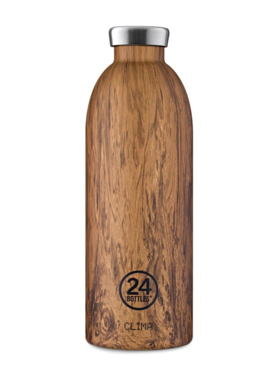 24Bottles 24Bottles Clima Bottle Sequoia Wood 850ml