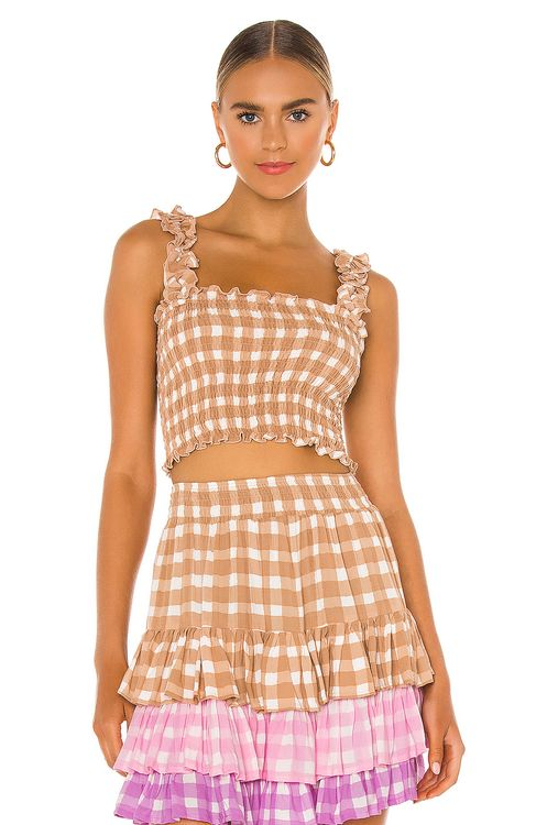 coolchange Remi Gingham Top