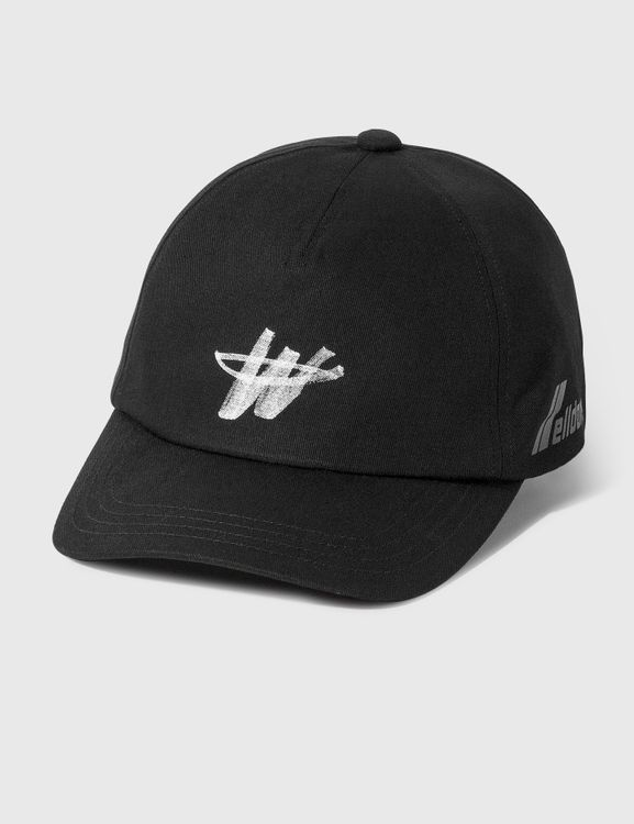We11done Cotton Logo Stamp Cap
