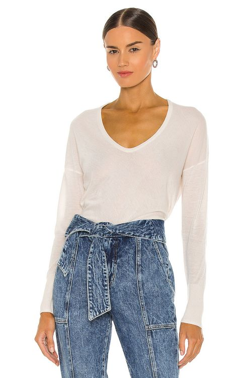 Rag & bone Mandee Cashmere U Neck Top