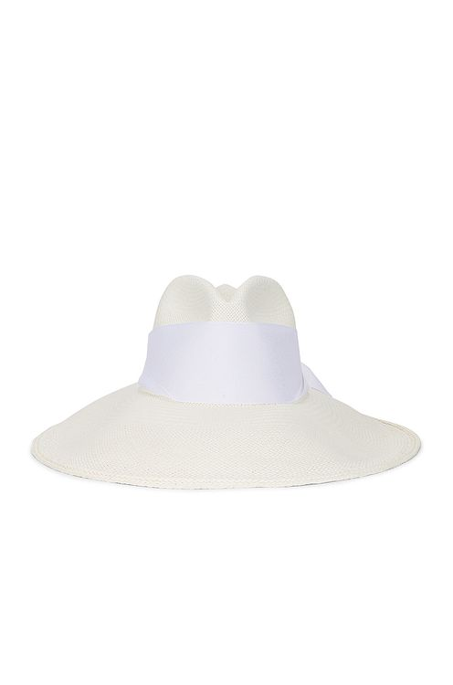 Sensi Studio Long Brim Maxi Band Panama Hat