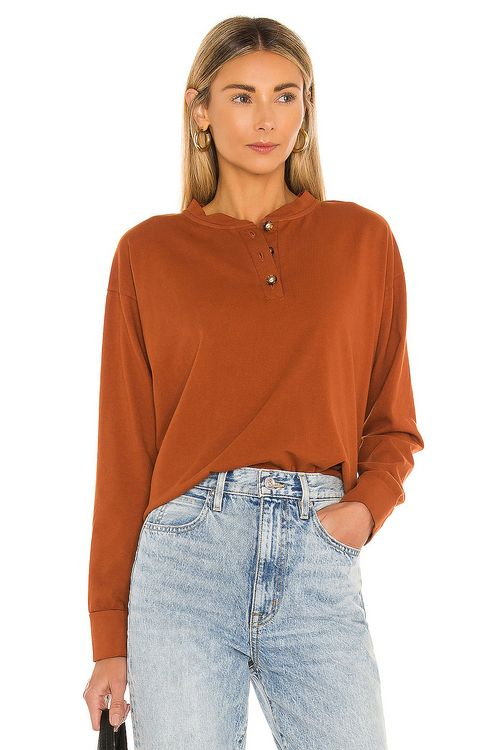 DONNI. Long Sleeve Henley