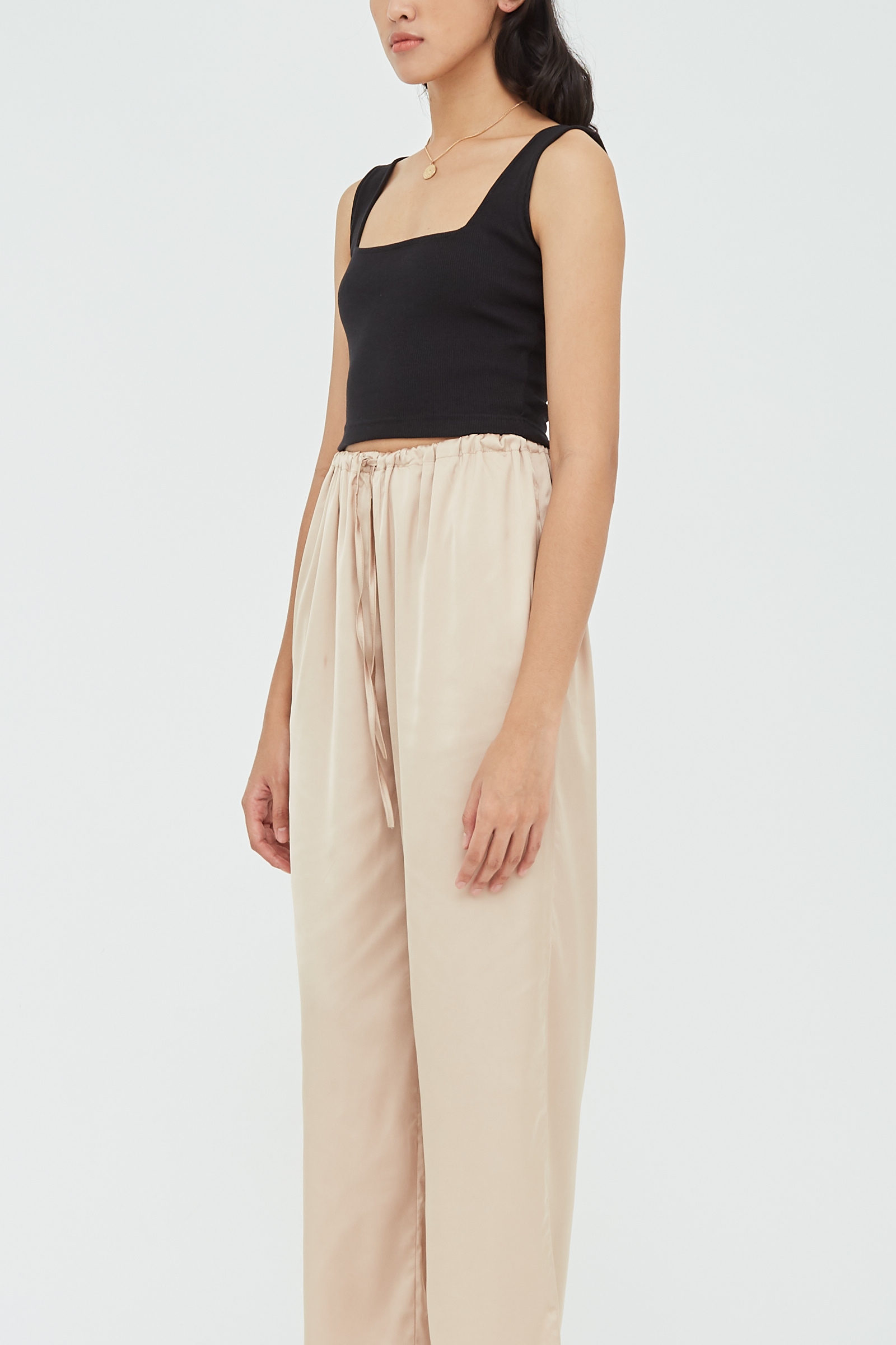 Shopatvelvet Sateen Lounge Pants
