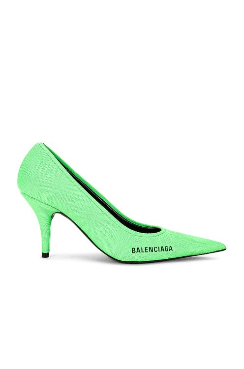 BALENCIAGA Knife Knit Pumps