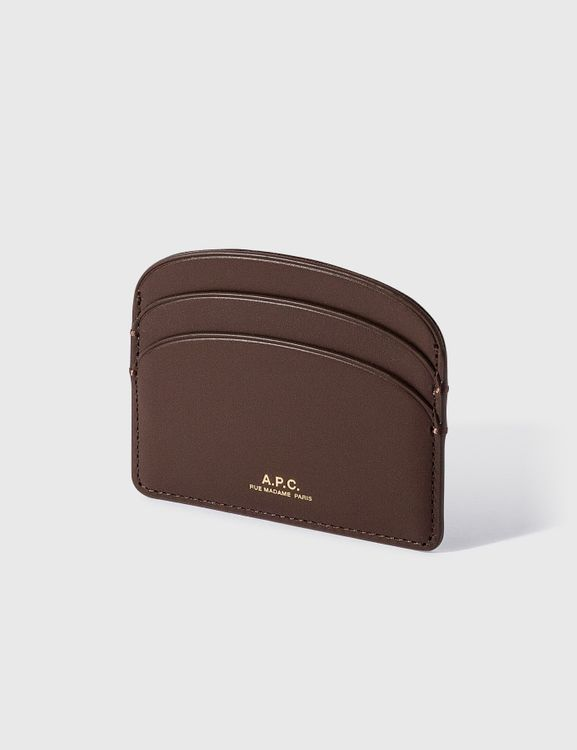 A.P.C. Half Moon Card Holder