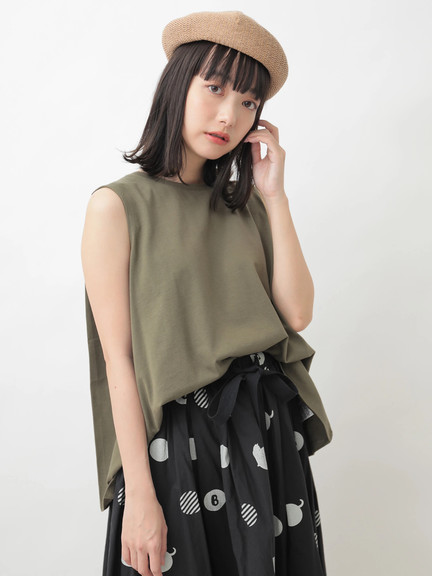 Earth, Music & Ecology Katya Top - Khaki