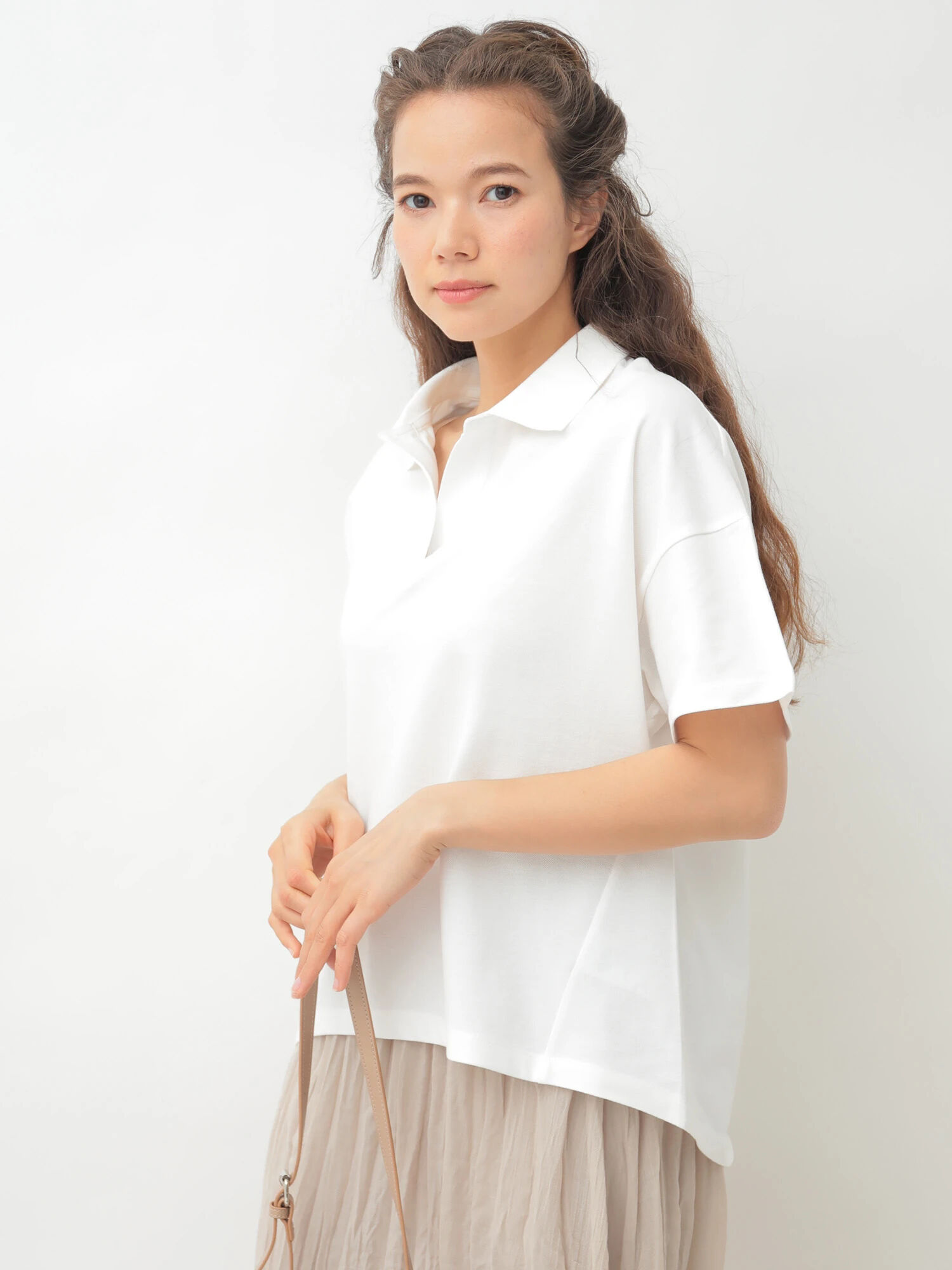 Earth, Music & Ecology Yurimi Top - White