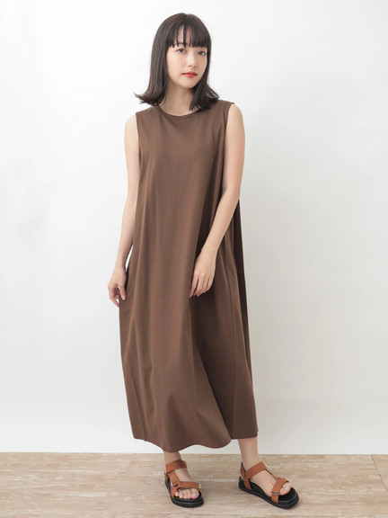 Earth, Music & Ecology Delilah Dress - Mocha