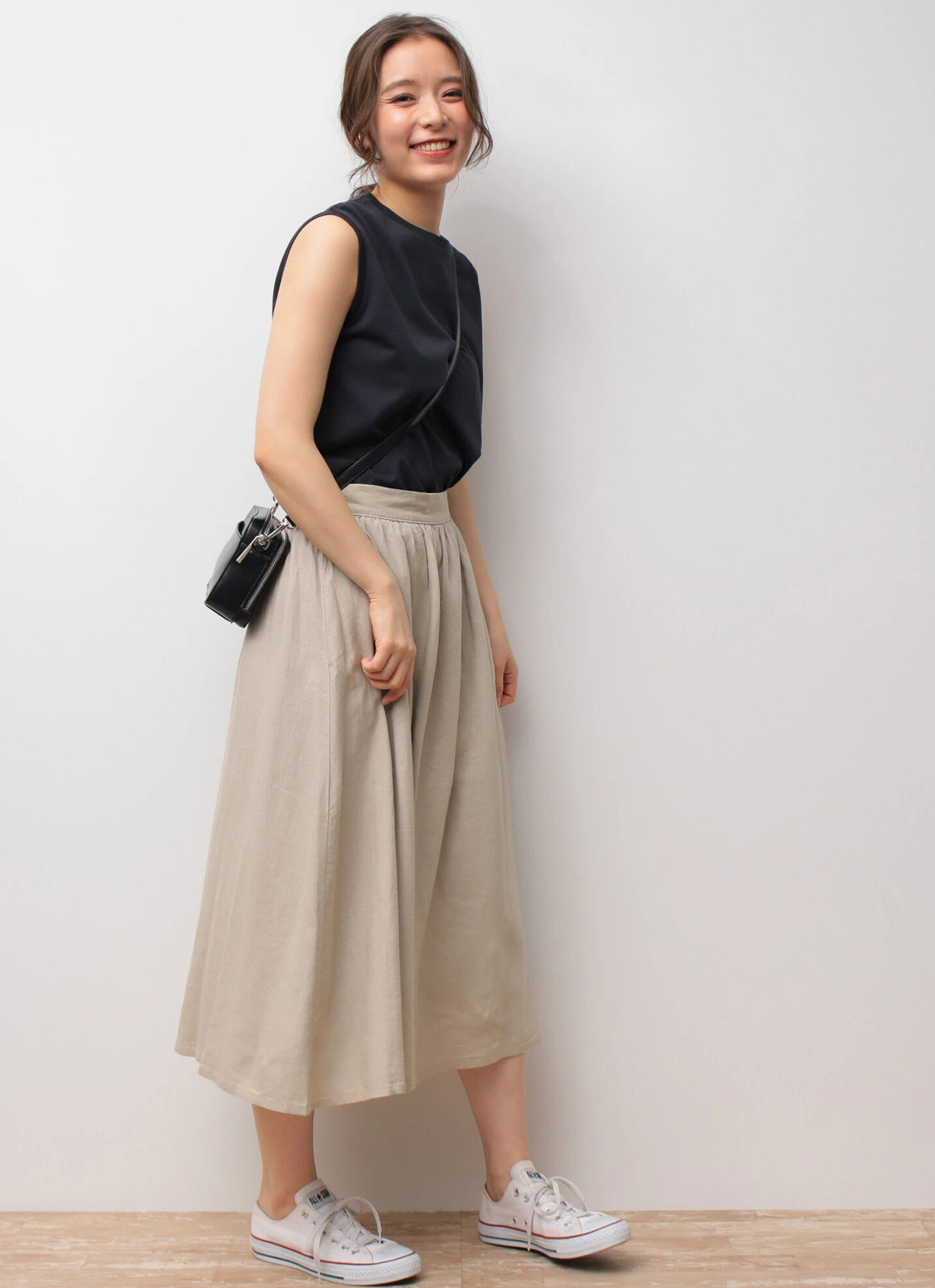Earth, Music & Ecology Sachiko Skirt - Dark Blue