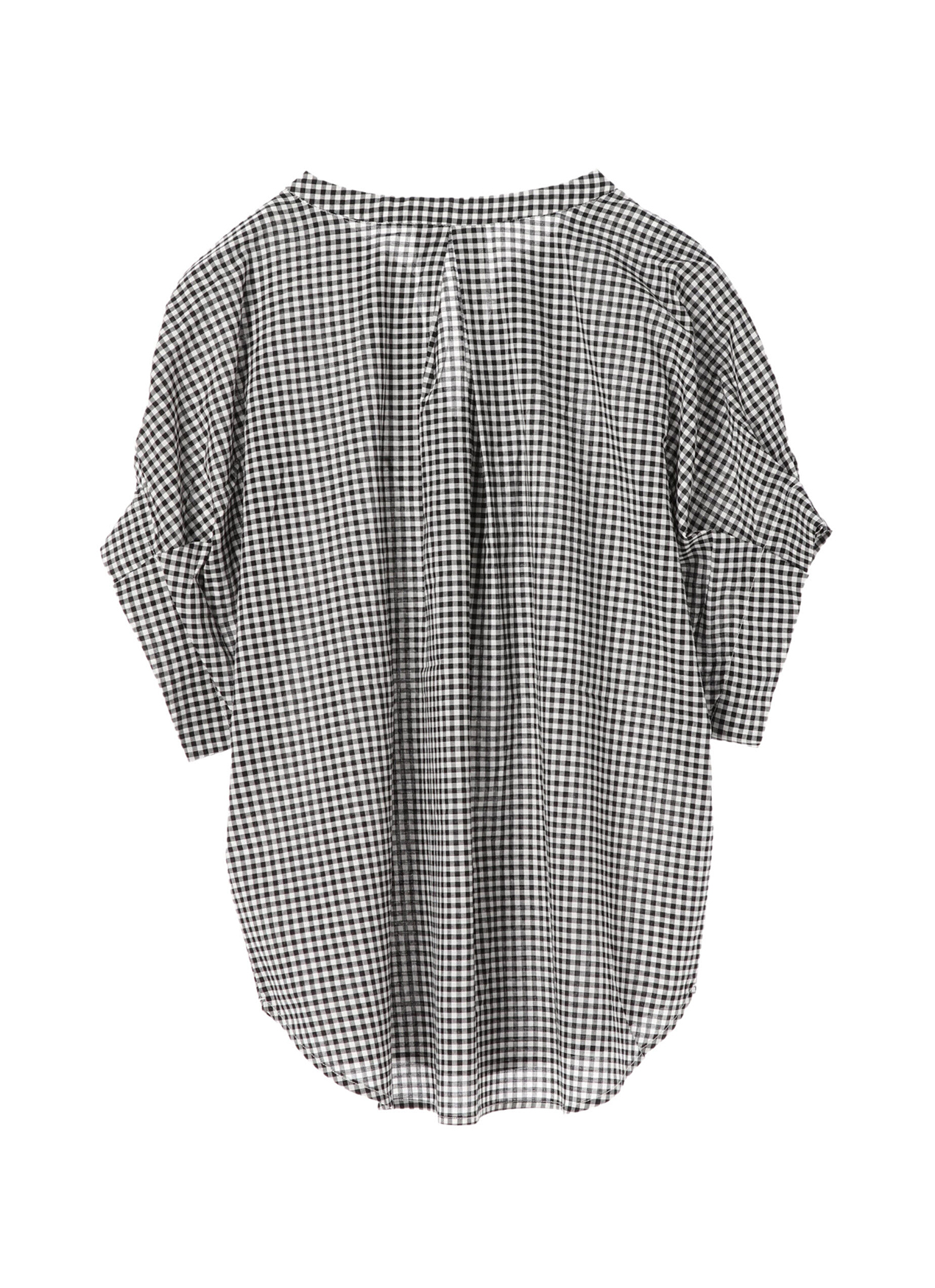 Earth, Music & Ecology Yurina Top - Gingham Check