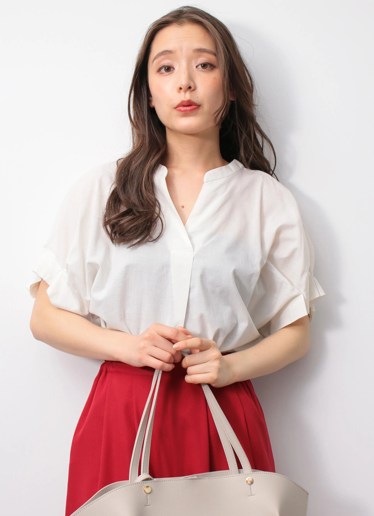 Earth, Music & Ecology Yurina Top - Ivory