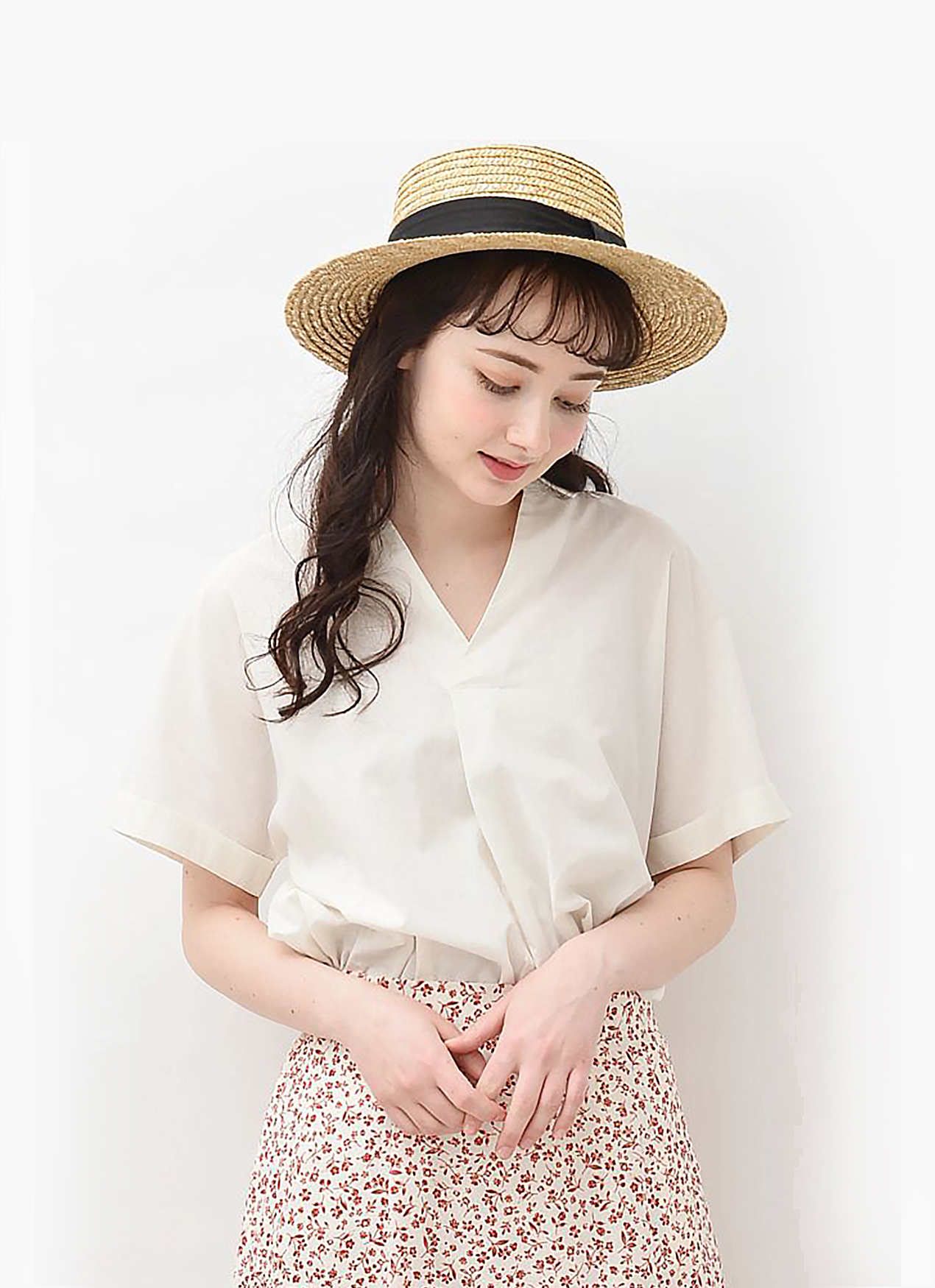 Earth, Music & Ecology Sanae Top - Ivory