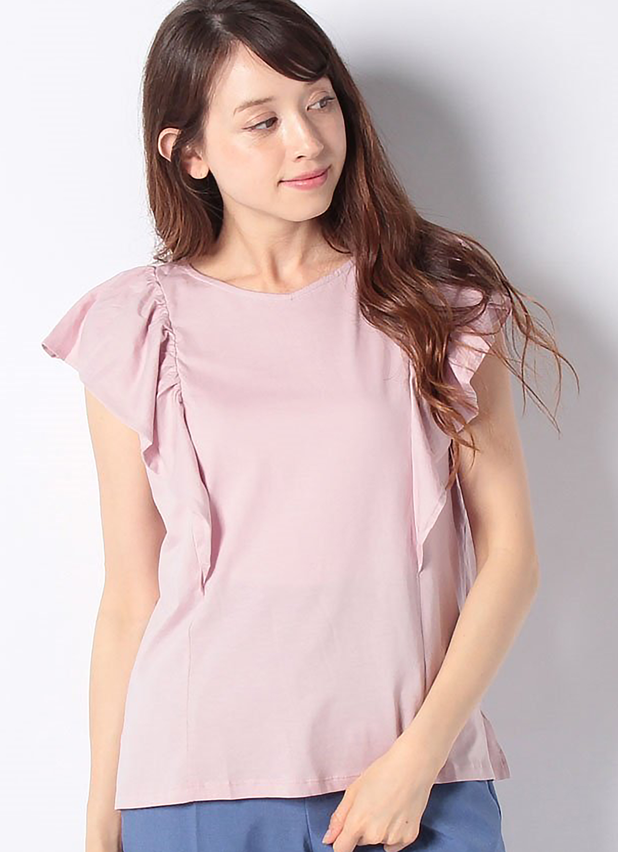 Earth, Music & Ecology Saori Top - Light Pink