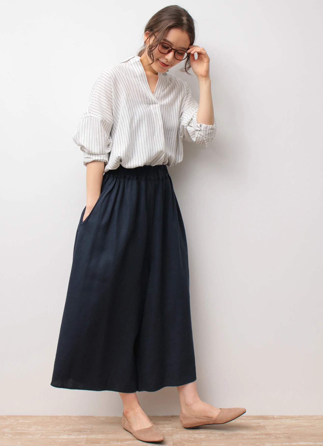 Earth, Music & Ecology Tomiko Pants - Navy