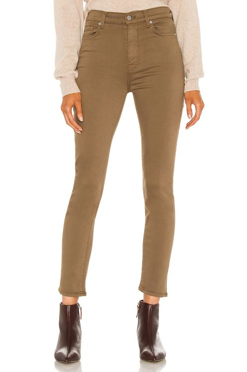 7 for all mankind The High Waist Ankle Skinny