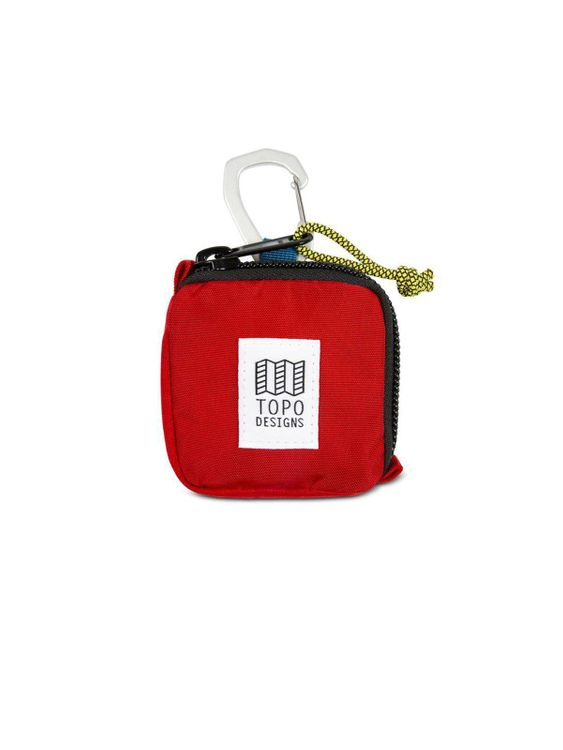 TOPO DESIGNS Topo Designs Square Bag Red
