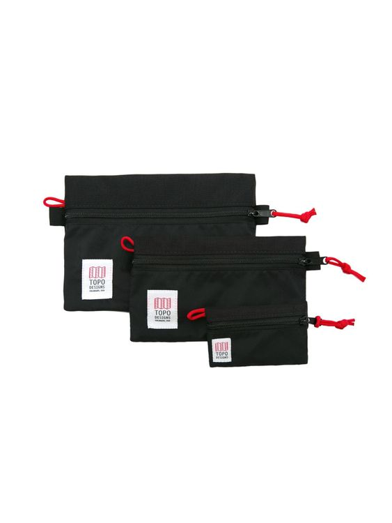 TOPO DESIGNS Topo Designs Accessory Bags Black
