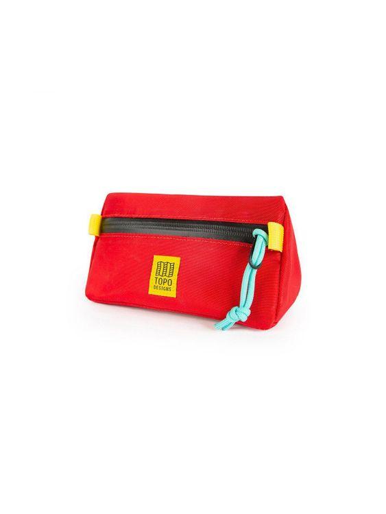 TOPO DESIGNS Topo Designs Mini Bike Bag Red