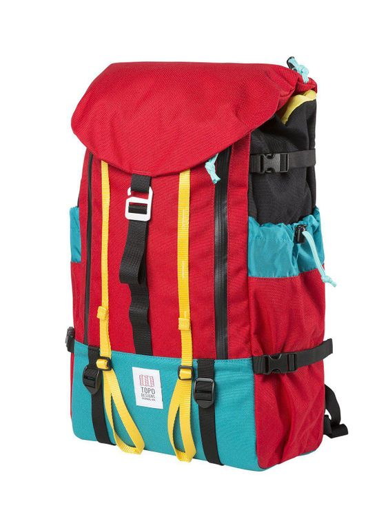 TOPO DESIGNS Topo Designs Mountain Pack Red