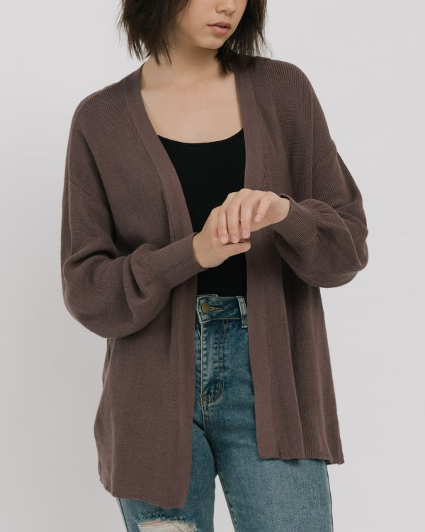 3Mongkis Shelby Cardigan - Purple