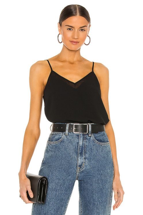 1. STATE Sheer Inset Cami
