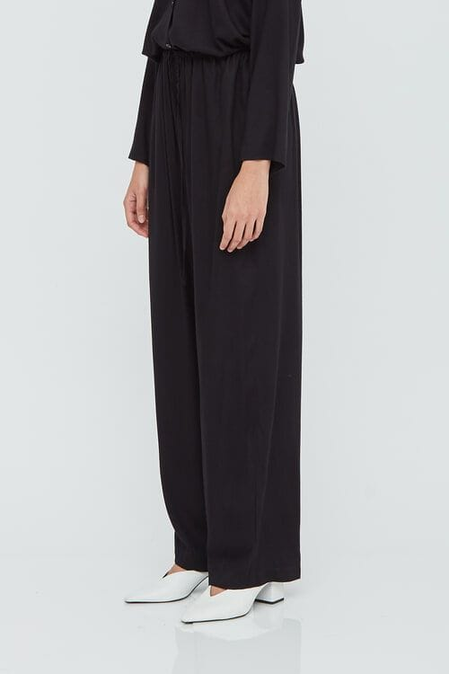 Shopatvelvet Black Lounge Pants