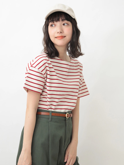 Earth, Music & Ecology Genelle Top - Red