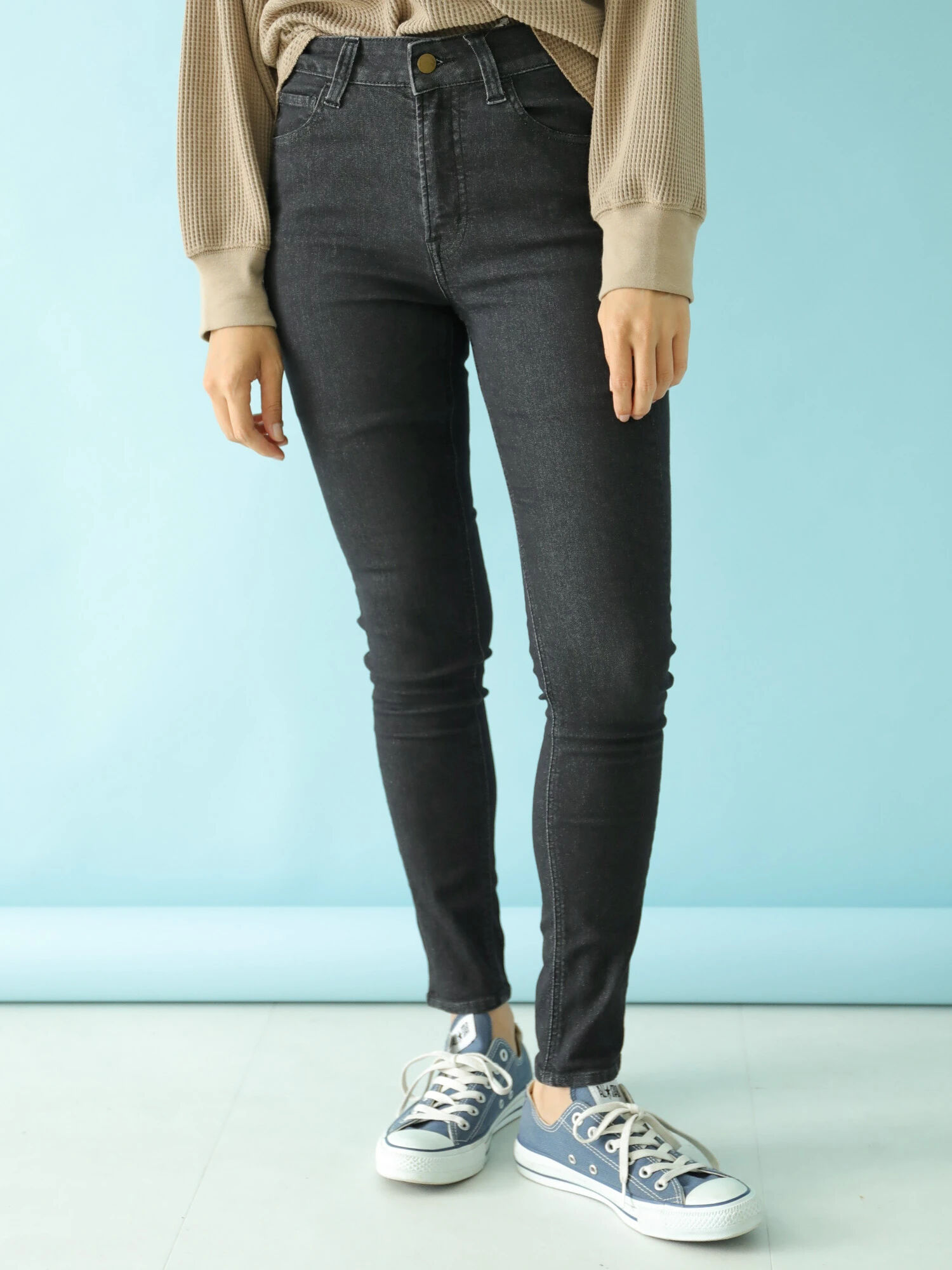 Earth, Music & Ecology Damaresh Jeans  - Charcoal Gray