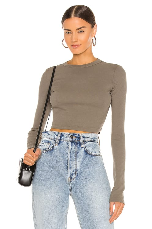 Cotton Citizen The Verona Crop Shirt