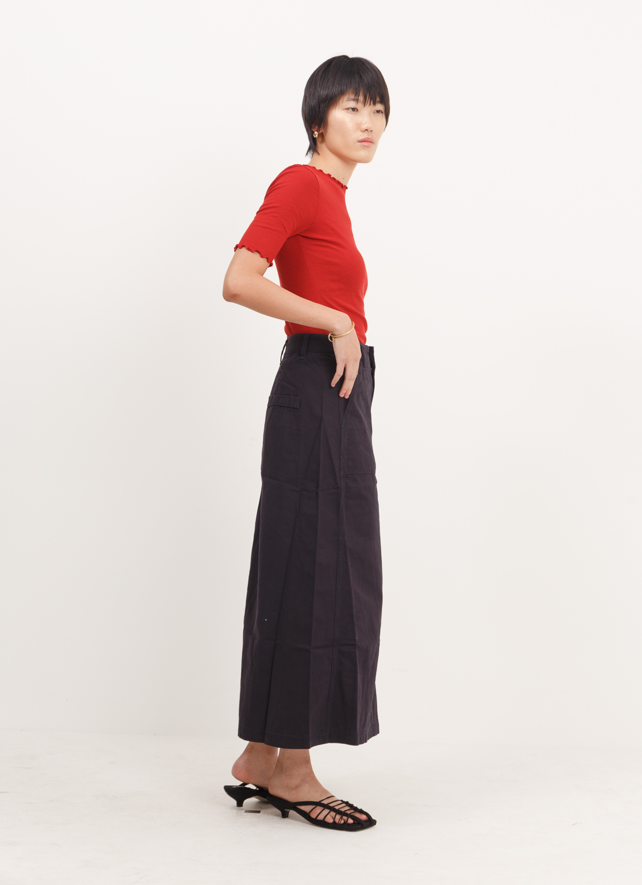 American Holic Myo Skirt - Navy