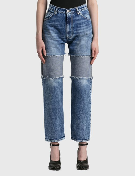 Maison Margiela Spliced Thigh Recycled Jeans