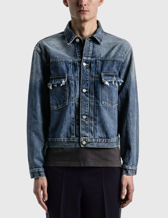 Maison Margiela Destroyed Denim Jacket
